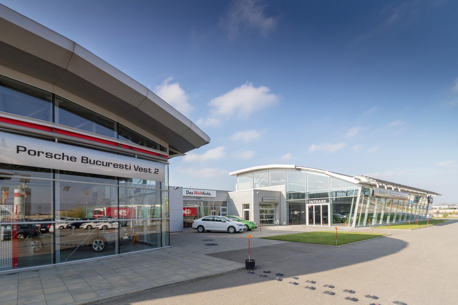 Porsche Showroom și Service Auto București Vest 2 Architect